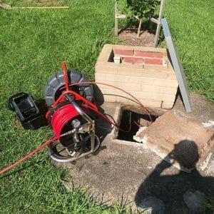 blocked drain camera